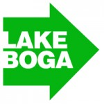 Lake Boga sign